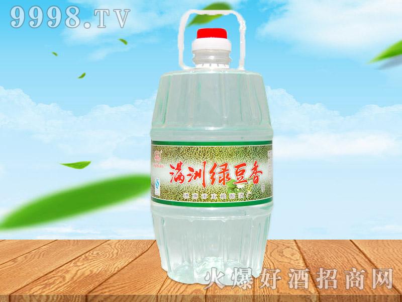 满洲绿豆香酒42°4L×4桶