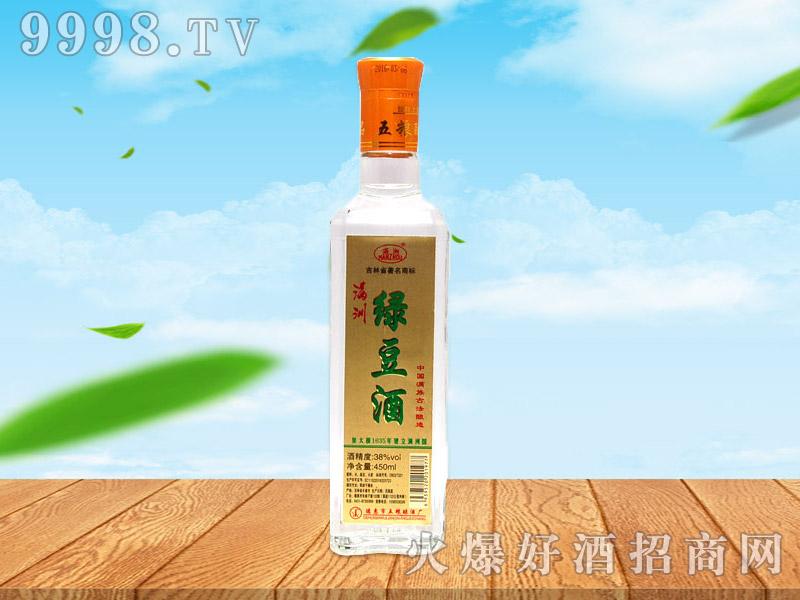 满洲绿豆酒38°450ml×12杯