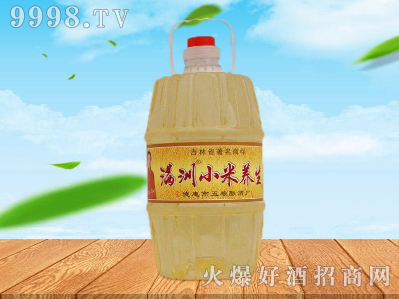 满洲小米养生酒42°4L×4桶、1L×12桶