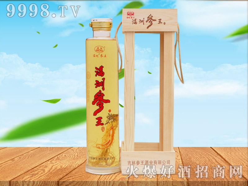 满洲参王酒2.5L(礼品木盒)