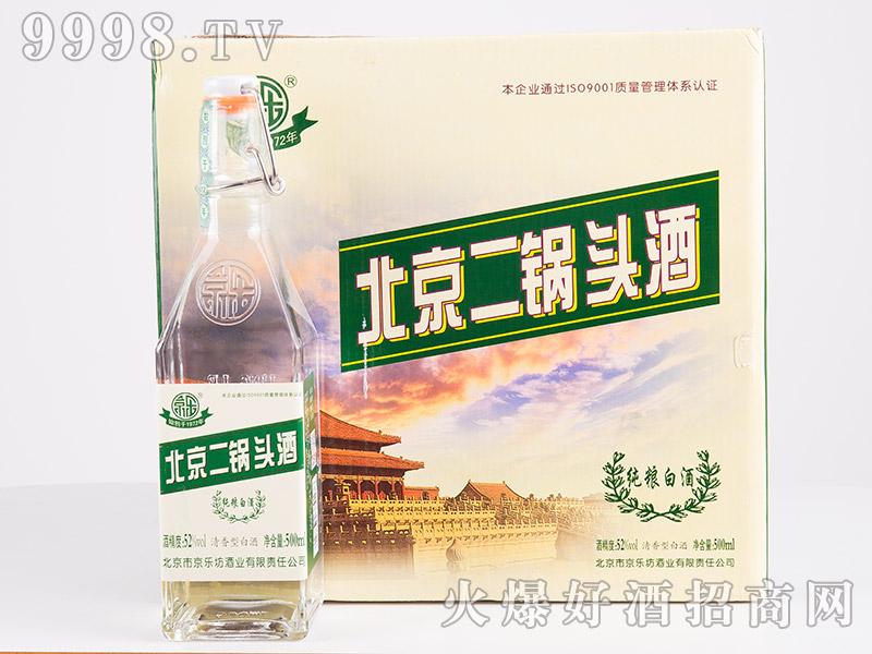 京乐北京二锅头酒52°500ml(箱)