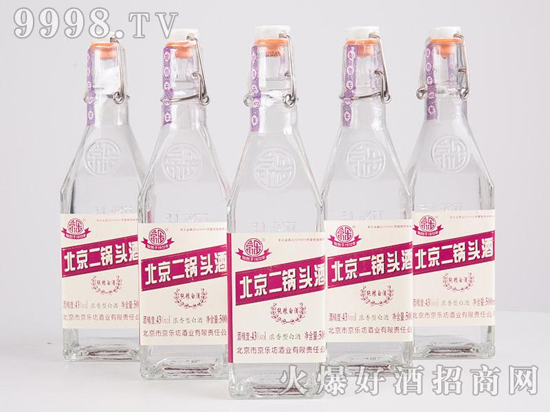 京乐北京二锅头酒43°500ml