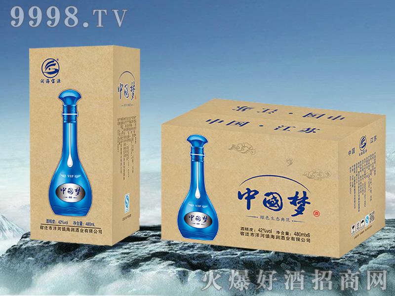 洋河镇中国梦酒480ml