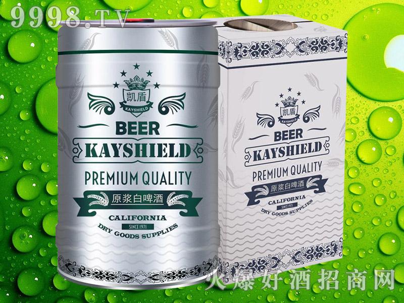 凯盾原浆白啤酒5L