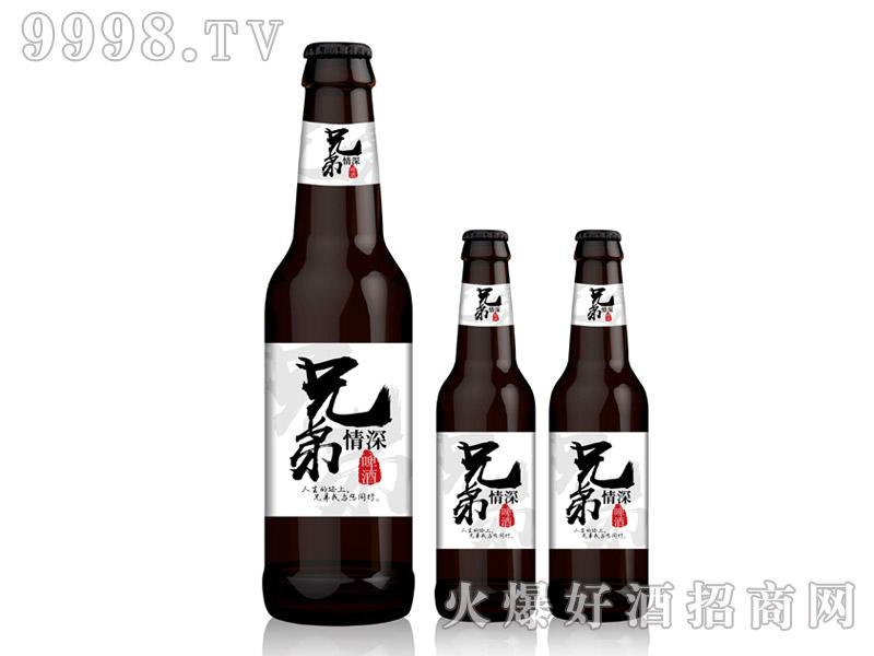 兄弟情深啤酒・330ml黑瓶