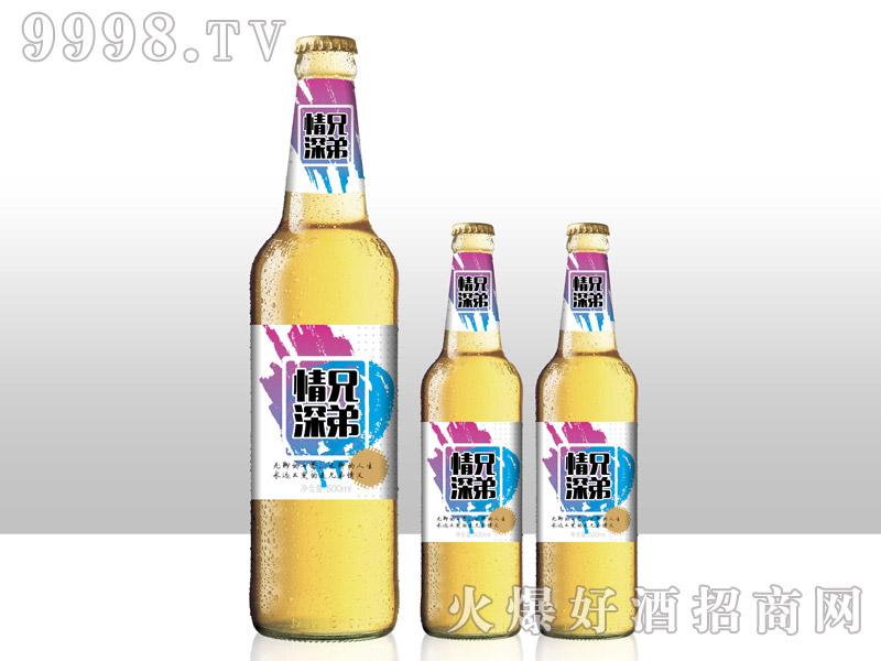 兄弟情深啤酒・500ml白瓶