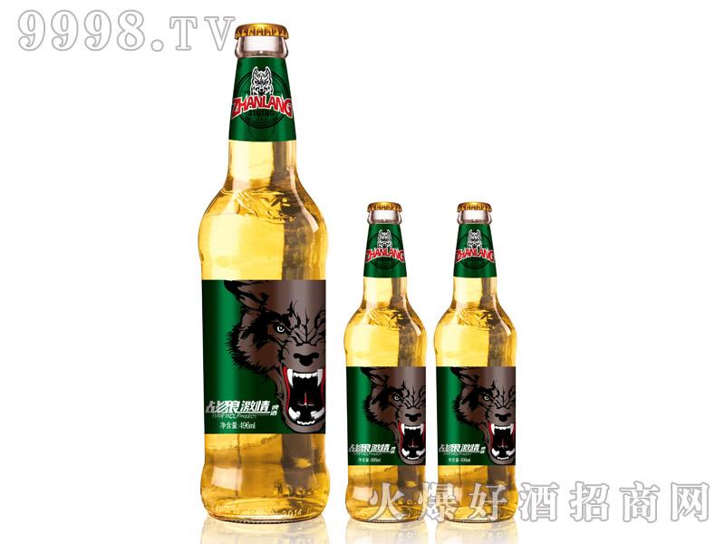 战狼激情啤酒・496ml白瓶绿标