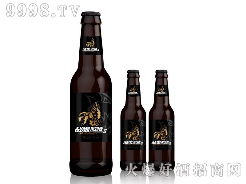 战狼激情啤酒・330ml棕瓶黑标