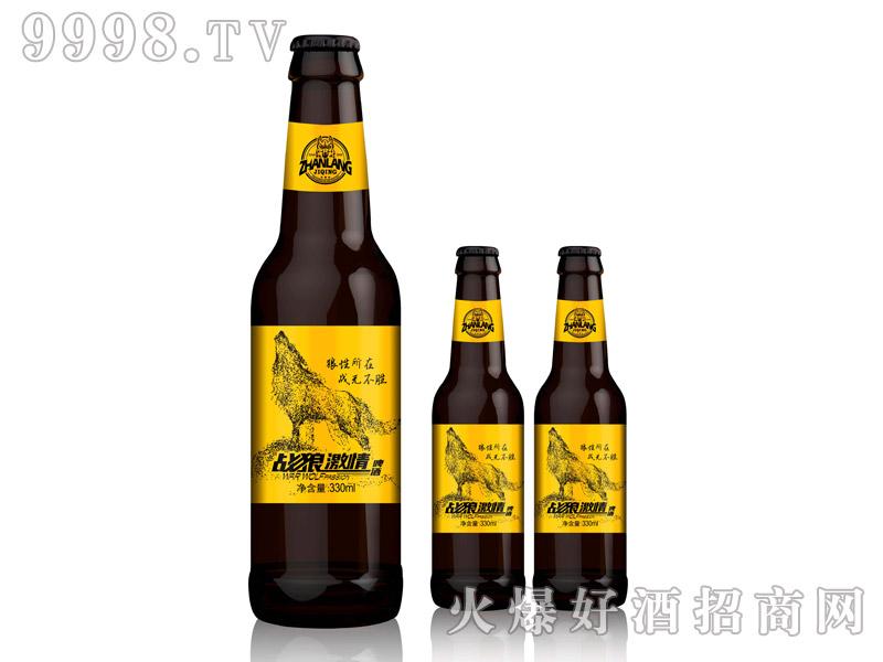 战狼激情啤酒・330ml棕瓶黄标