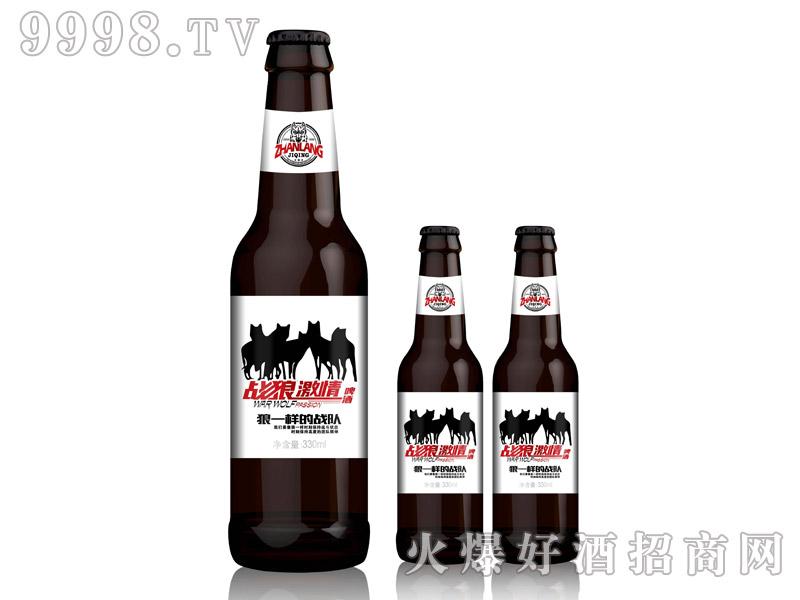 战狼激情啤酒・330ml棕瓶白标