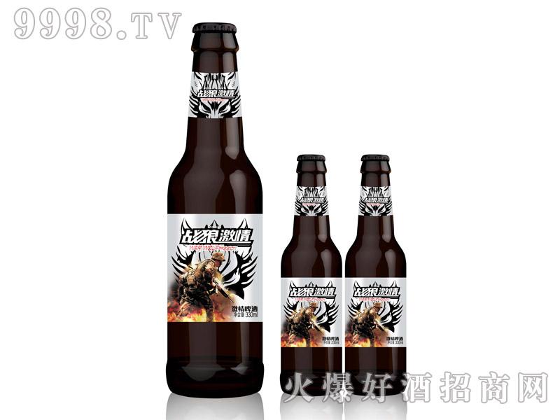 战狼激情啤酒・330ml豪爽人物瓶