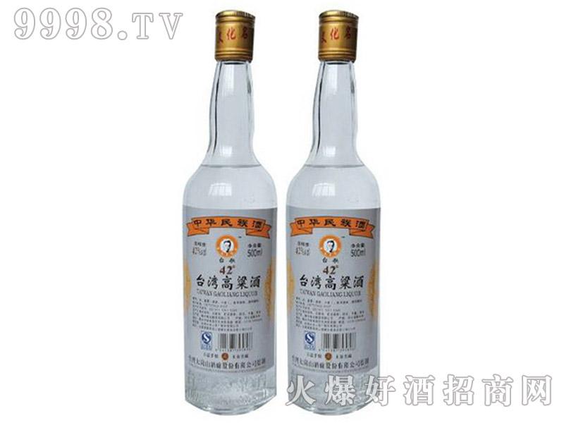 台湾高粱酒银金龙42°52°500ml