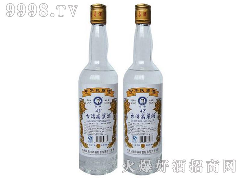 台湾高粱酒白金龙42°52°600ml