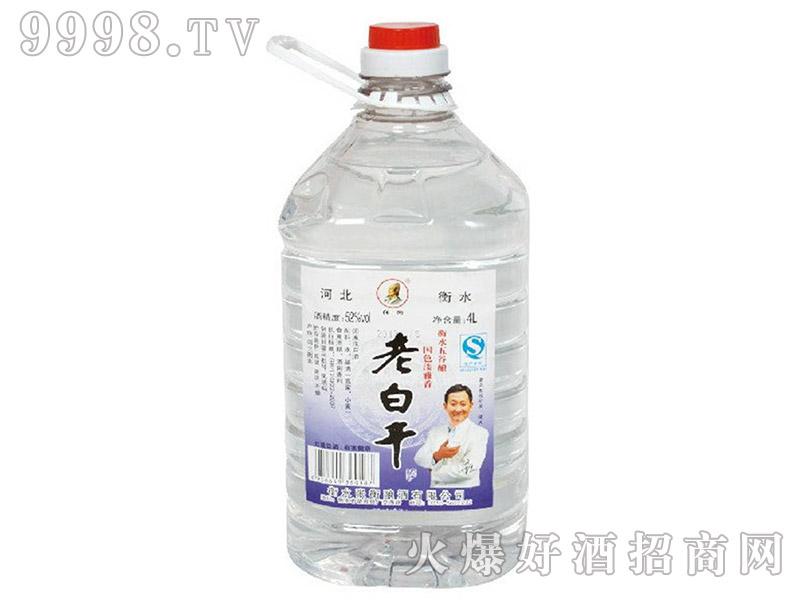 张衡老白干酒52°4L(桶)