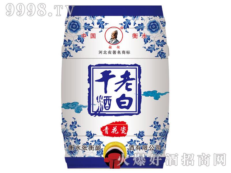 张衡老白干酒青花瓷42°10L(铁桶)