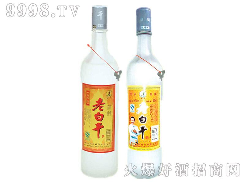 张衡老白干酒黄标金卡大蒙砂42°