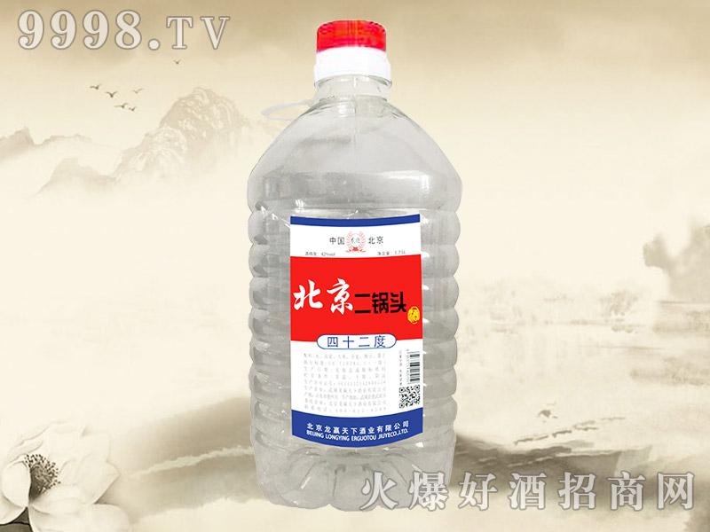 龙迎北京二锅头酒42°1.75L
