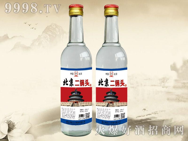 龙迎北京二锅头酒42°500ml(白瓶)