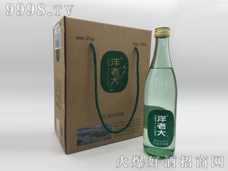 洋老大酒42度475mlx6