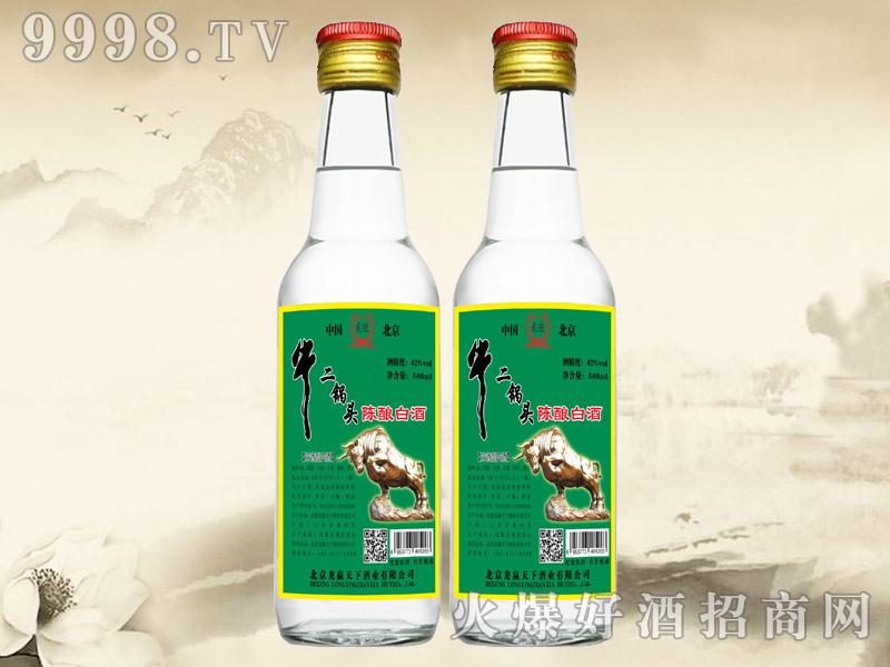 龙迎牛二锅头陈酿白酒42°250ml