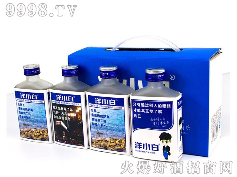洋小白酒100mlx12箱装系列