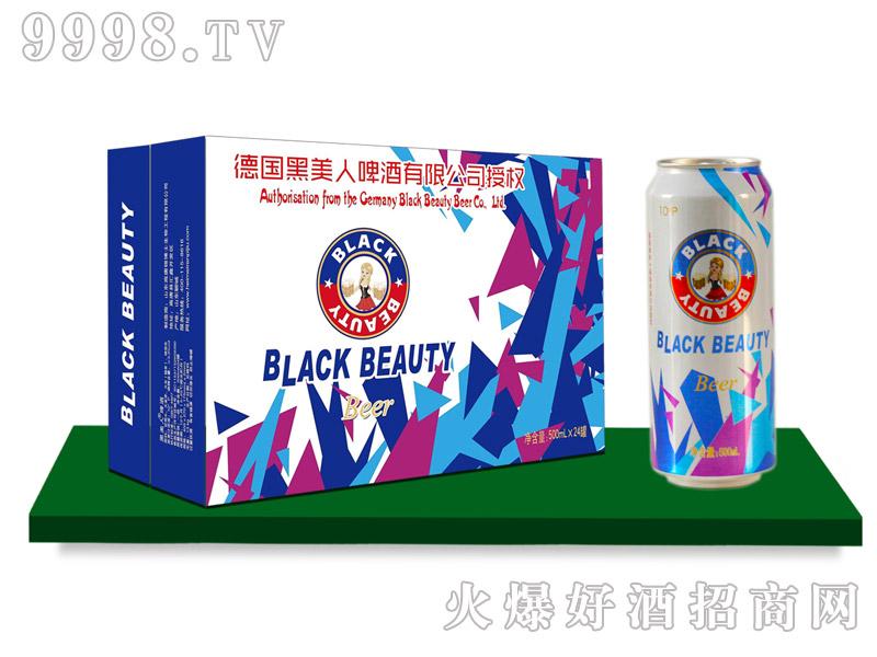 黑美人啤酒500mlx12罐