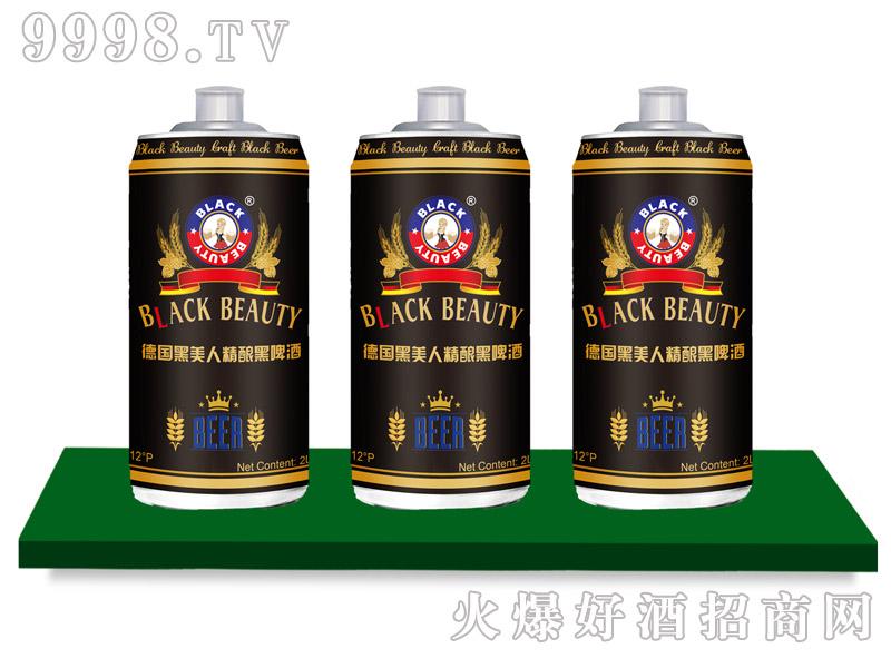 黑美人啤酒・原浆黑啤2L