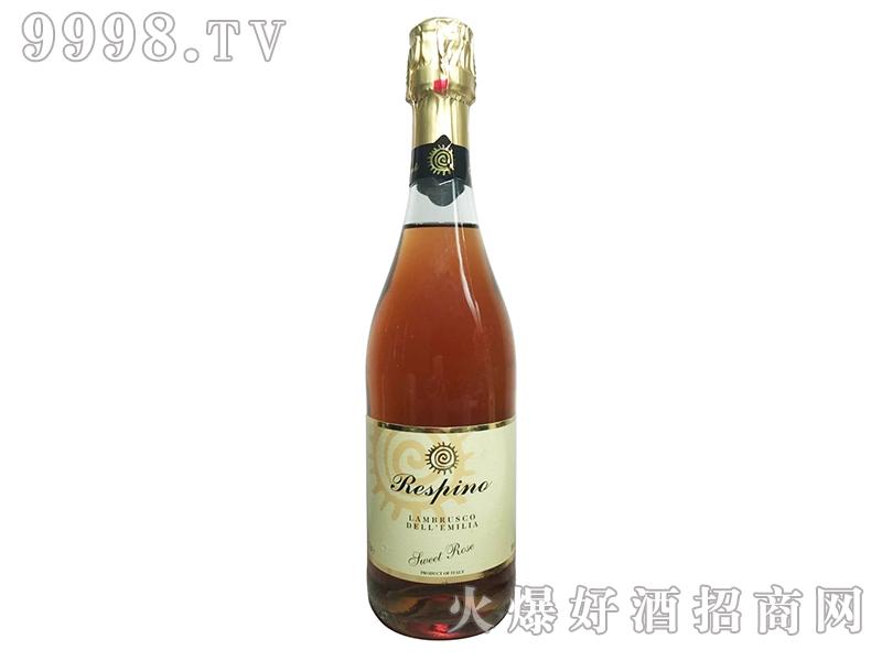 瑞斯品诺蓝布鲁斯科桃红起泡葡萄酒