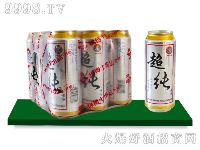 水城明珠超纯啤酒塑包490mlx24罐