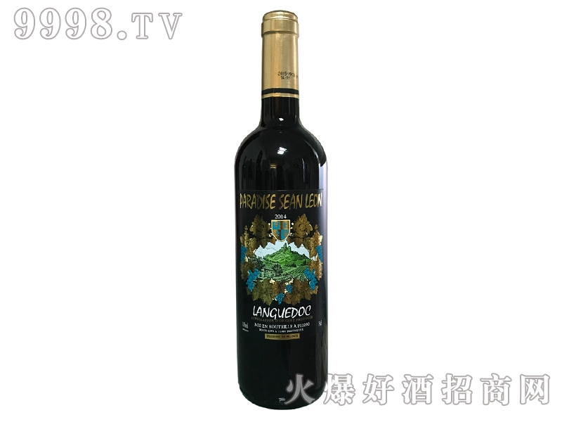 喜乐天堂干红葡萄酒