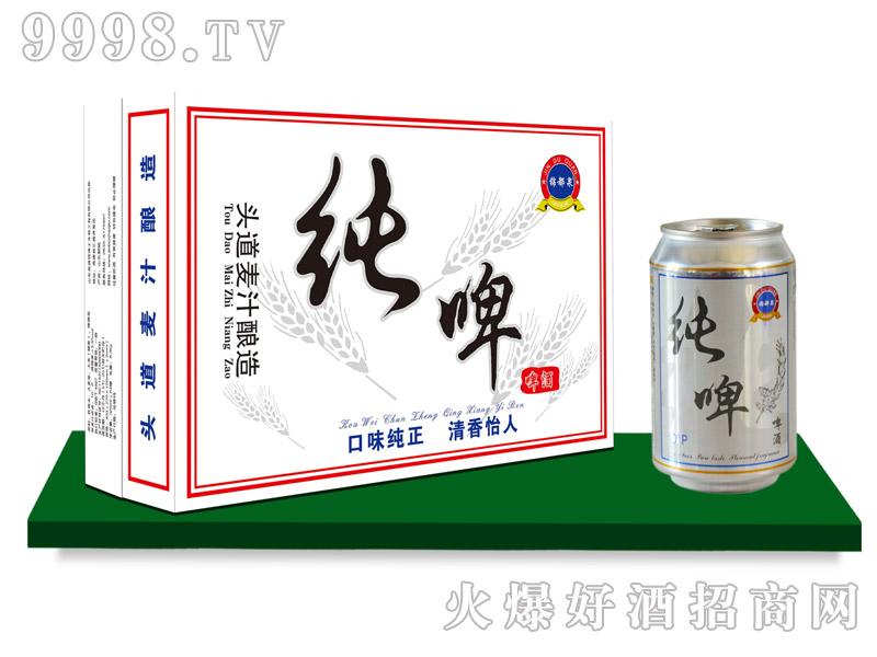锦都泉纯啤320mlx24罐