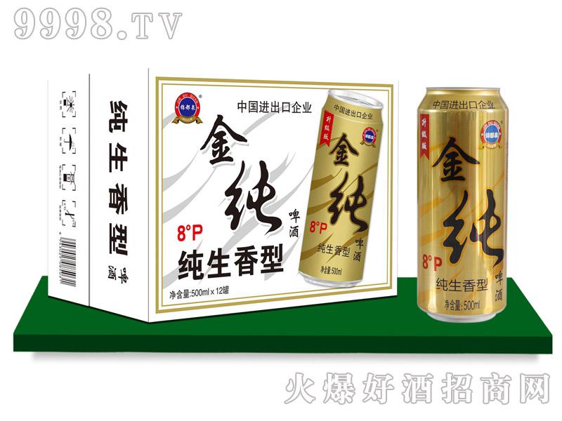 锦都泉纯啤500mlx12罐