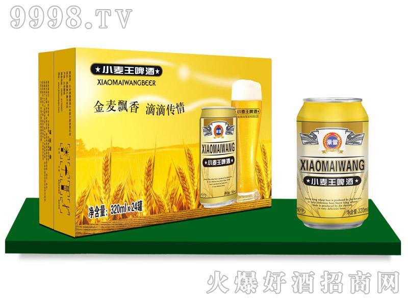景雪小麦王啤酒320mlx24罐