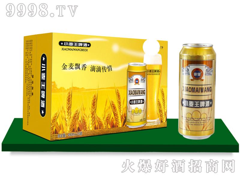 景雪小麦王啤酒10度490mlx24罐