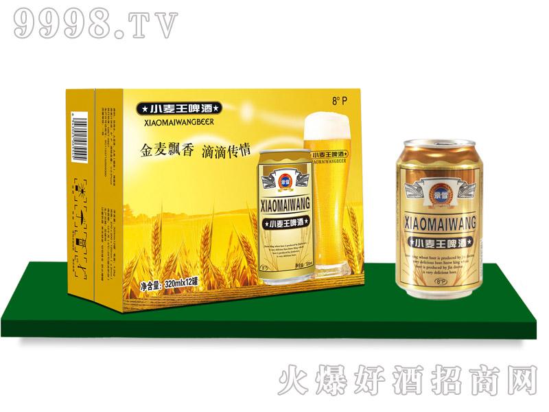 景雪小麦王啤酒320mlx12罐