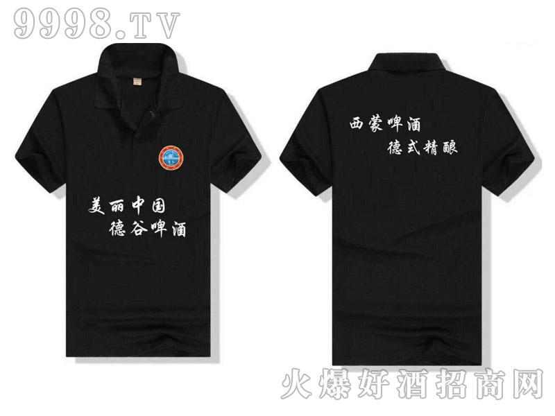 德谷啤酒广告衫(黑)