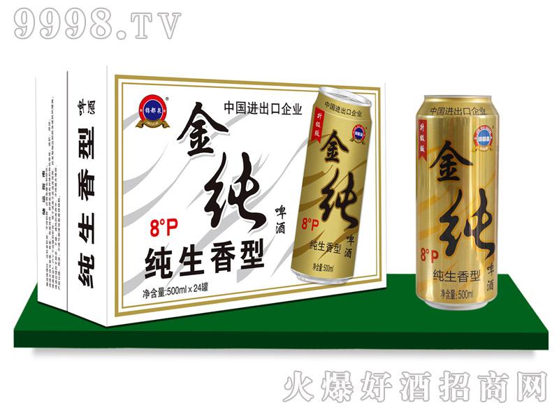锦都泉纯啤500mlx24罐
