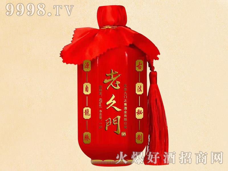 老久门酒红瓶40度1.5L
