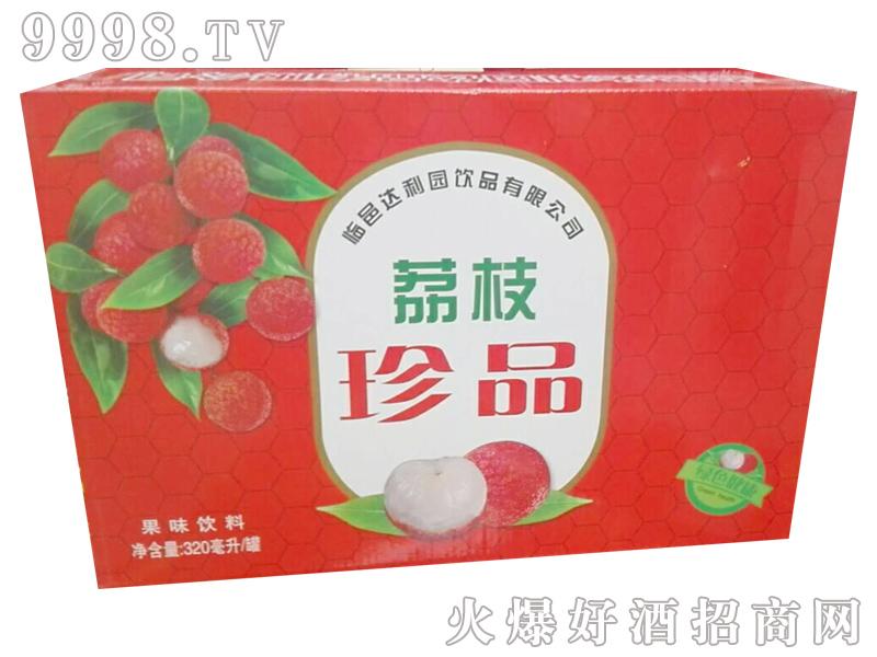 达利园荔枝珍品果味饮品320ml罐
