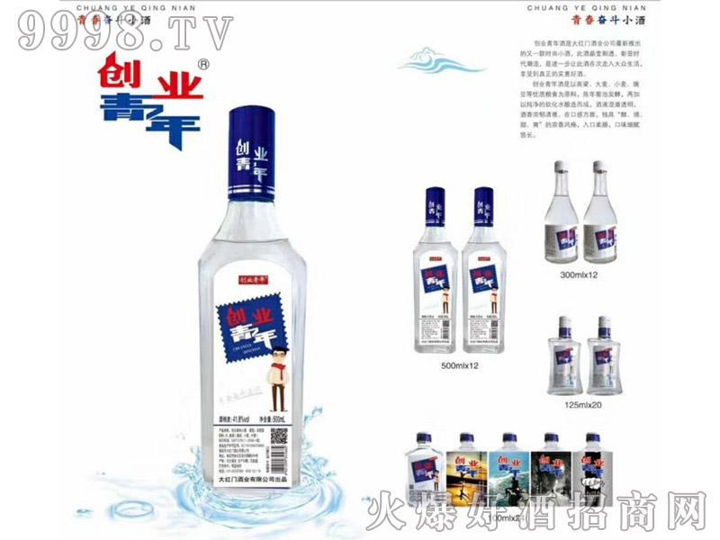 创业青年小酒系列产品