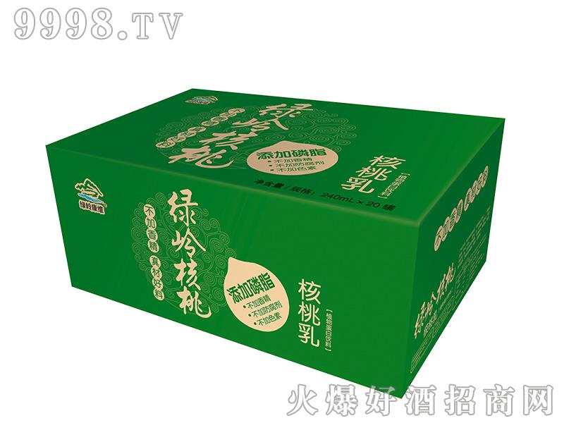 绿岭核桃乳箱装-饮料招商信息