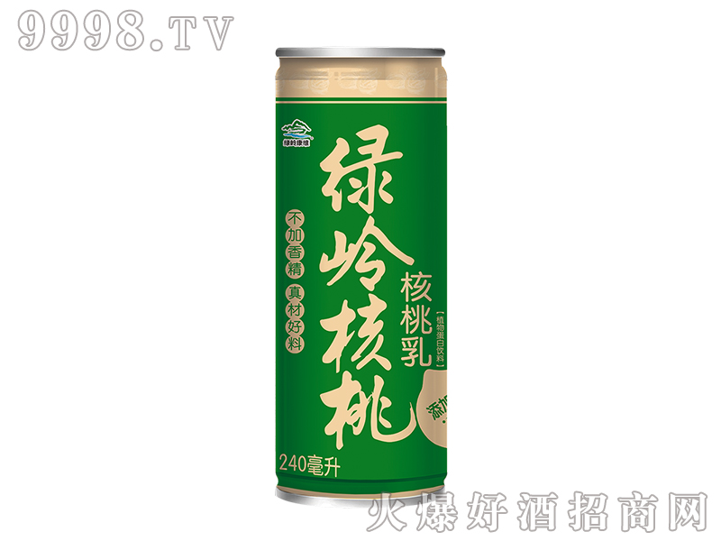 绿岭核桃乳240ml-饮料招商信息