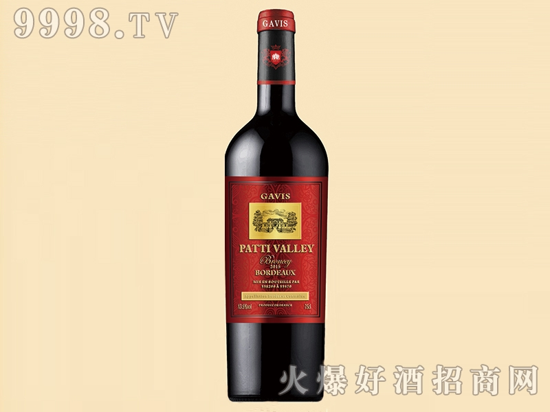 帕蒂河谷・泊朗塞干红葡萄酒