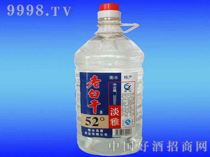 3600ml老白干桶酒