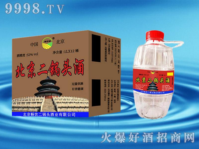 北京二锅头酒1lx12桶52°