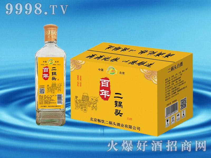 百年二锅头酒42°450ml黄标