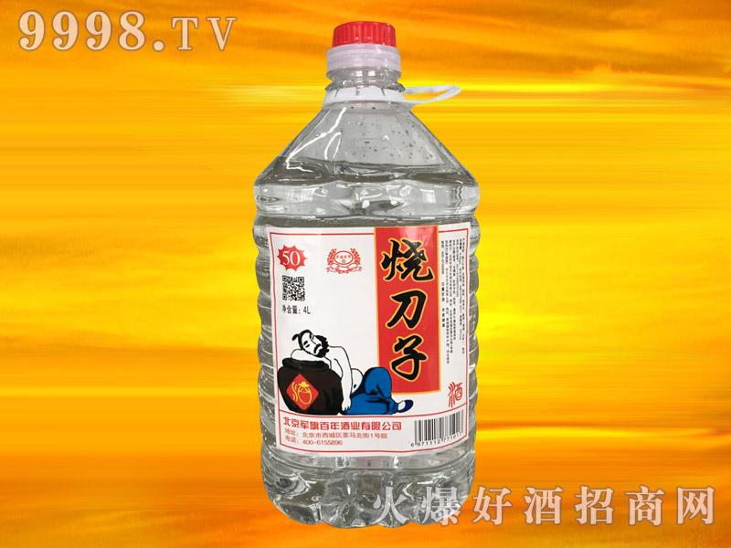 军旗百年烧刀子酒50°4L(新装)