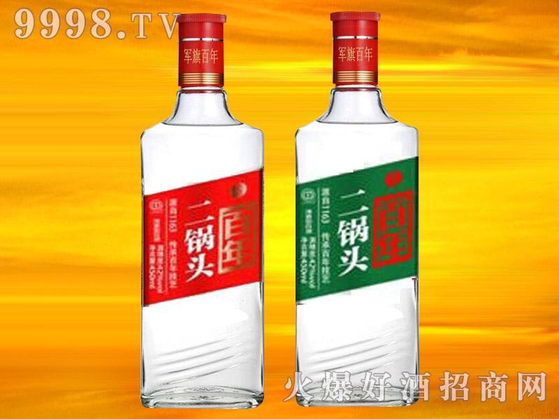 军旗百年二锅头酒(方瓶)52°42°
