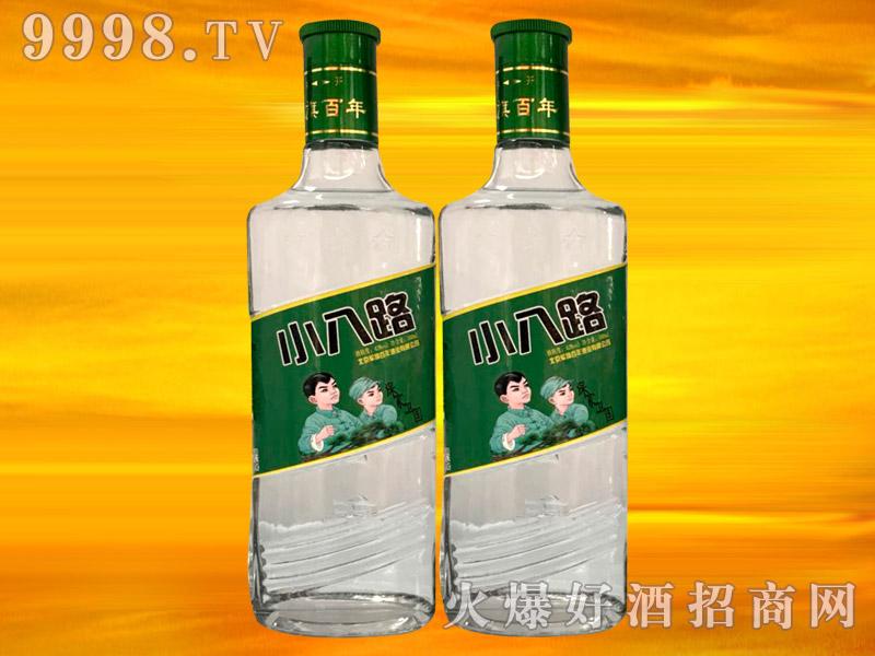 军旗百年方瓶小八路酒42°500ml