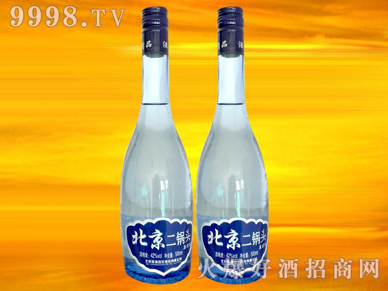 军旗百年北京二锅头原浆酒42°500ml